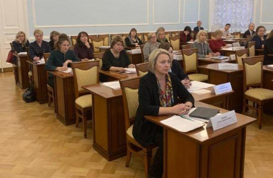 25.11.2019 г. Участие в заседании Координационного совета при Правительстве Санкт-Петербурга по реализации Национальной стратегии действий в интересах женщин